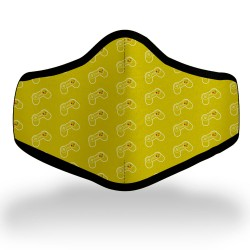 Yellow Controller Mask