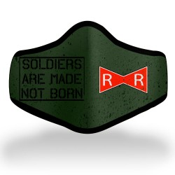 Red Ribbon Soldier Mask
